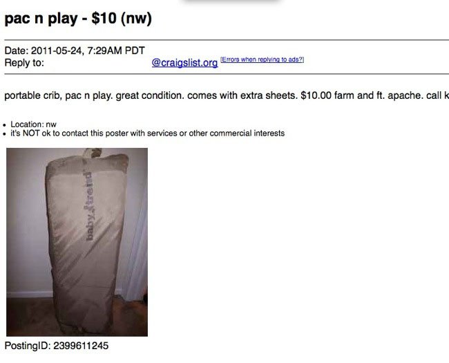 Funny Ads I Have Found on Craigslist