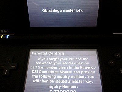 easy how to unlock reset nintendo dsi xl parental controls rh howtoselloncraigslistebook com Nintendo DSi Operation Manual Number Nintendo DSi Operations Manual UK
