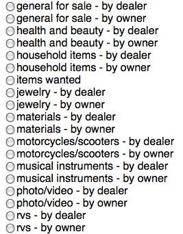 craigslist dealer